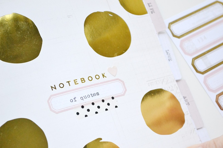 Typecast Quote Journal by Aly Dosdall 4