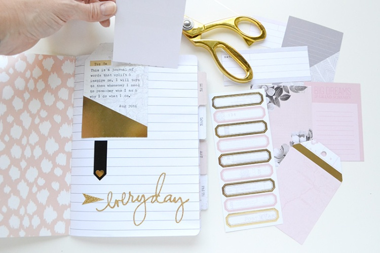 Typecast Quote Journal by Aly Dosdall 7