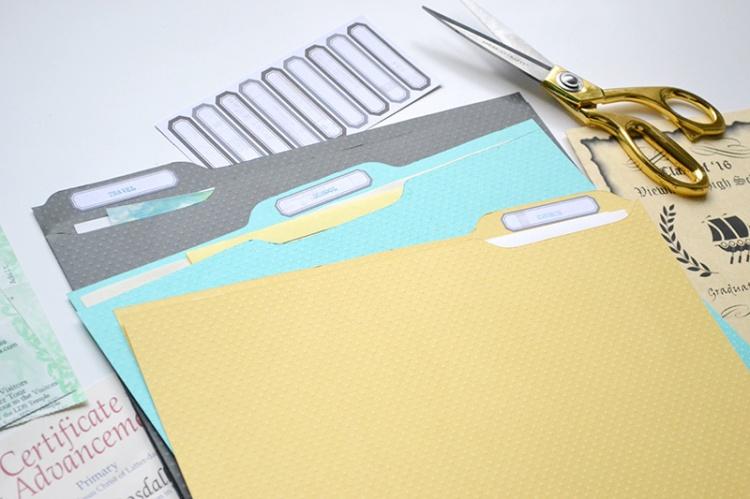 DIY Ephemera File Folders by Aly Dosdall 2