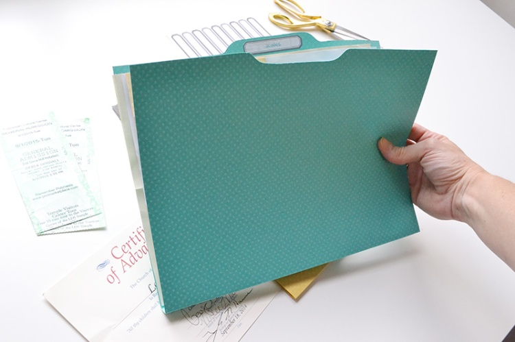 DIY Ephemera File Folders by Aly Dosdall 4