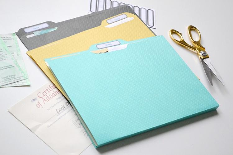 DIY Ephemera File Folders by Aly Dosdall 5