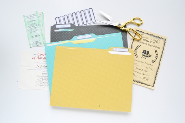DIY Ephemera File Folders by Aly Dosdall 6