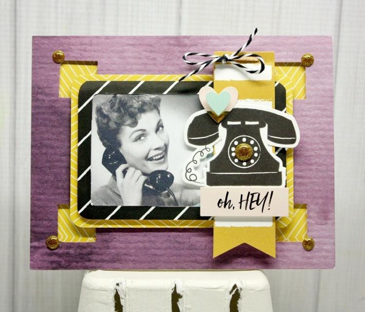 Shellye McDaniel-Photo Frame Urban Chic Card1