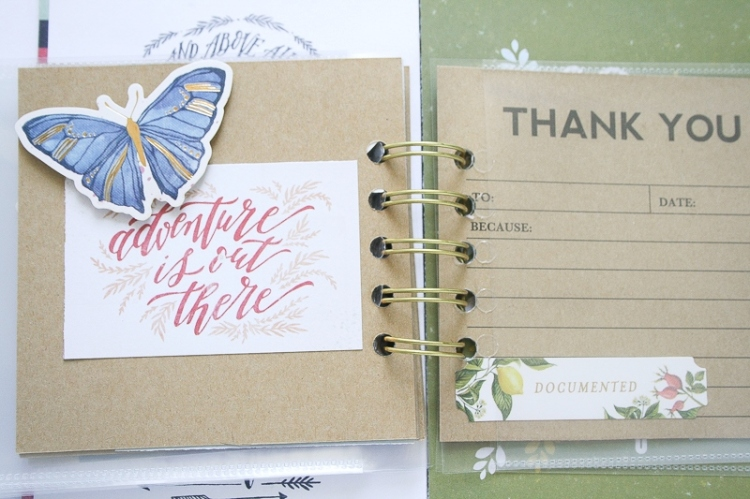 Thankful Mini Album by Wendy Antenucci for We R Memory Keepers