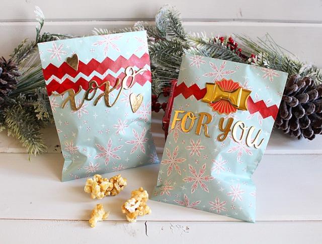 Christmas treat bags recipe we r memory keepers
