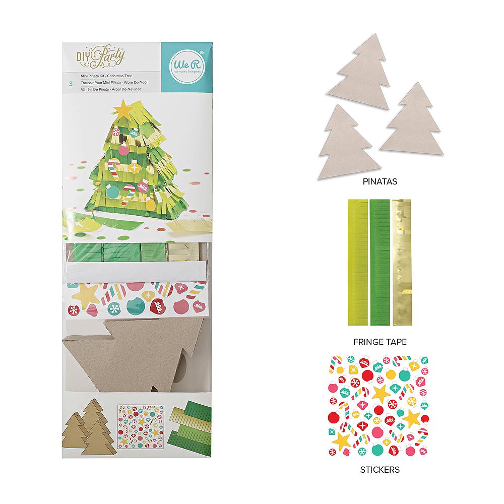 DIY Mini Piñata Kits We R Memory Keepers Blog - Christmas Tree Pinata