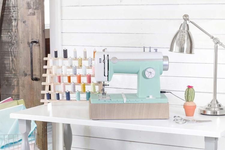 The new Stitch Happy enhanced sewing machine from We R Memory Keepers