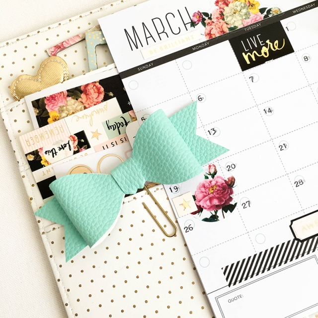 Planner Spread featuring the Evolution Advanced by Tessa Buys for We R Memory Keepers