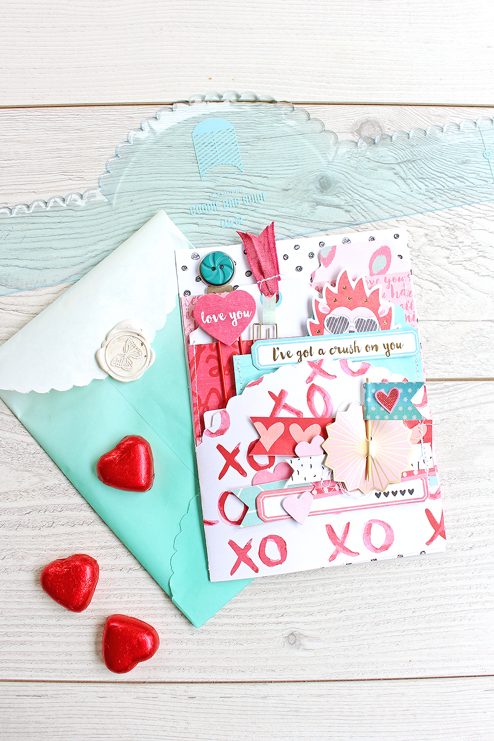 Interactive Valentine S Day Card We R Memory Keepers Blog
