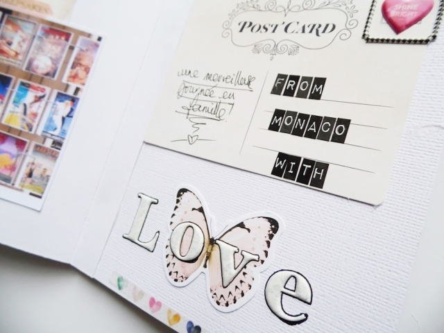 Frame Punch Board Mini Book by Soraya Maes for We R Memory Keepers