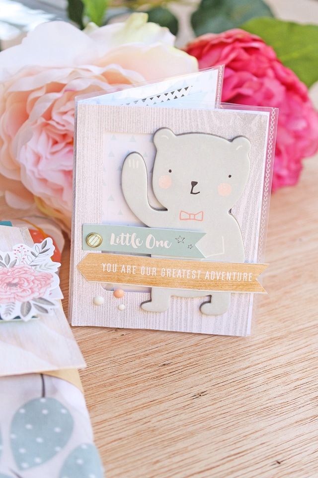 Baby Shower Gift Idea by Chantalle McDaniel for We R Memory Keepers