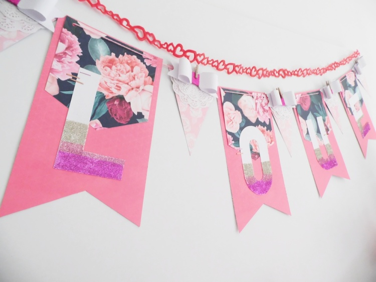 Valentine's Day Banner by Soraya Maes for We R Memory Keepers