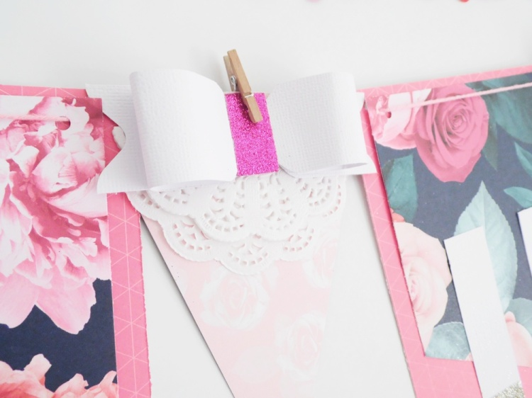 Valentine Banner by Soraya Maes for We R Memory Keepers