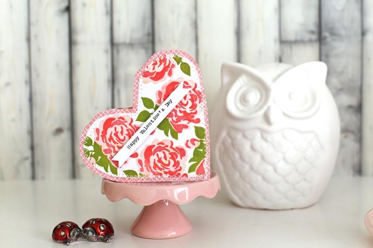 Precision Press Valentine Cards by Eva Pizarro for We R Memory Keepers