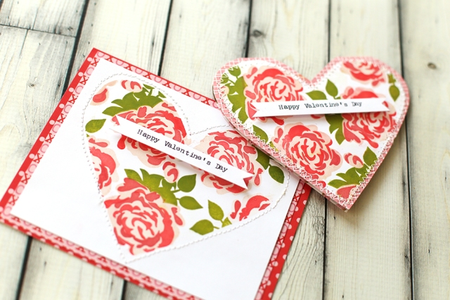 Precision Press Valentine Cards by Eva Pizarro for We R Memory Keepers