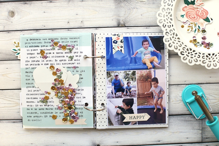 Photo Sleeve Fuse Mini Album by Eva Pizarro for We R Memory Keepers