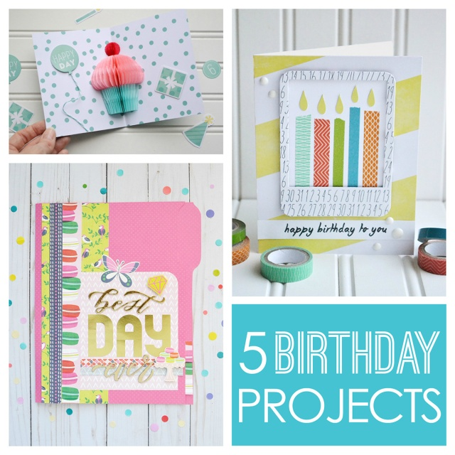 We R Memory Keepers Birthday Blog Projects