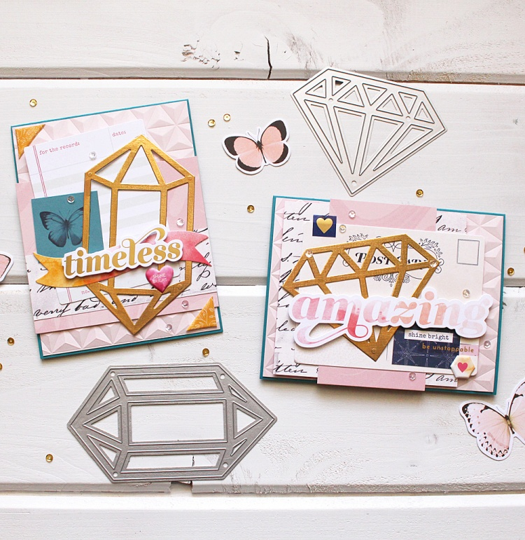 Embossed Handmade Cards by Kimberly Crawford for We R Memory Keepers