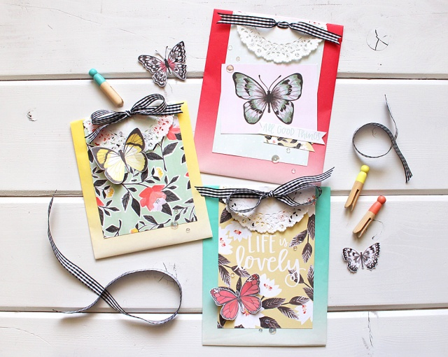 DIY Gift Bags with the Crop-A-Dile by Kimberly Crawford