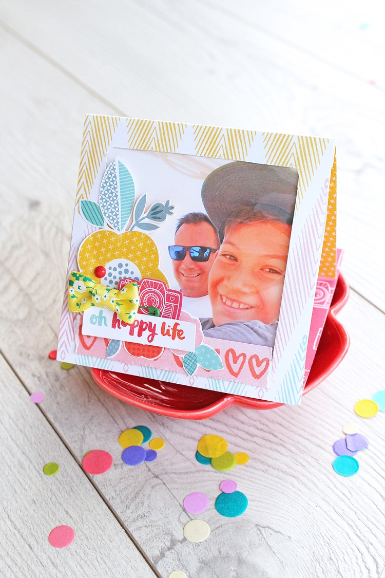 Pop Up Frame Card by Chantalle McDaniel for We R Memory Keepers