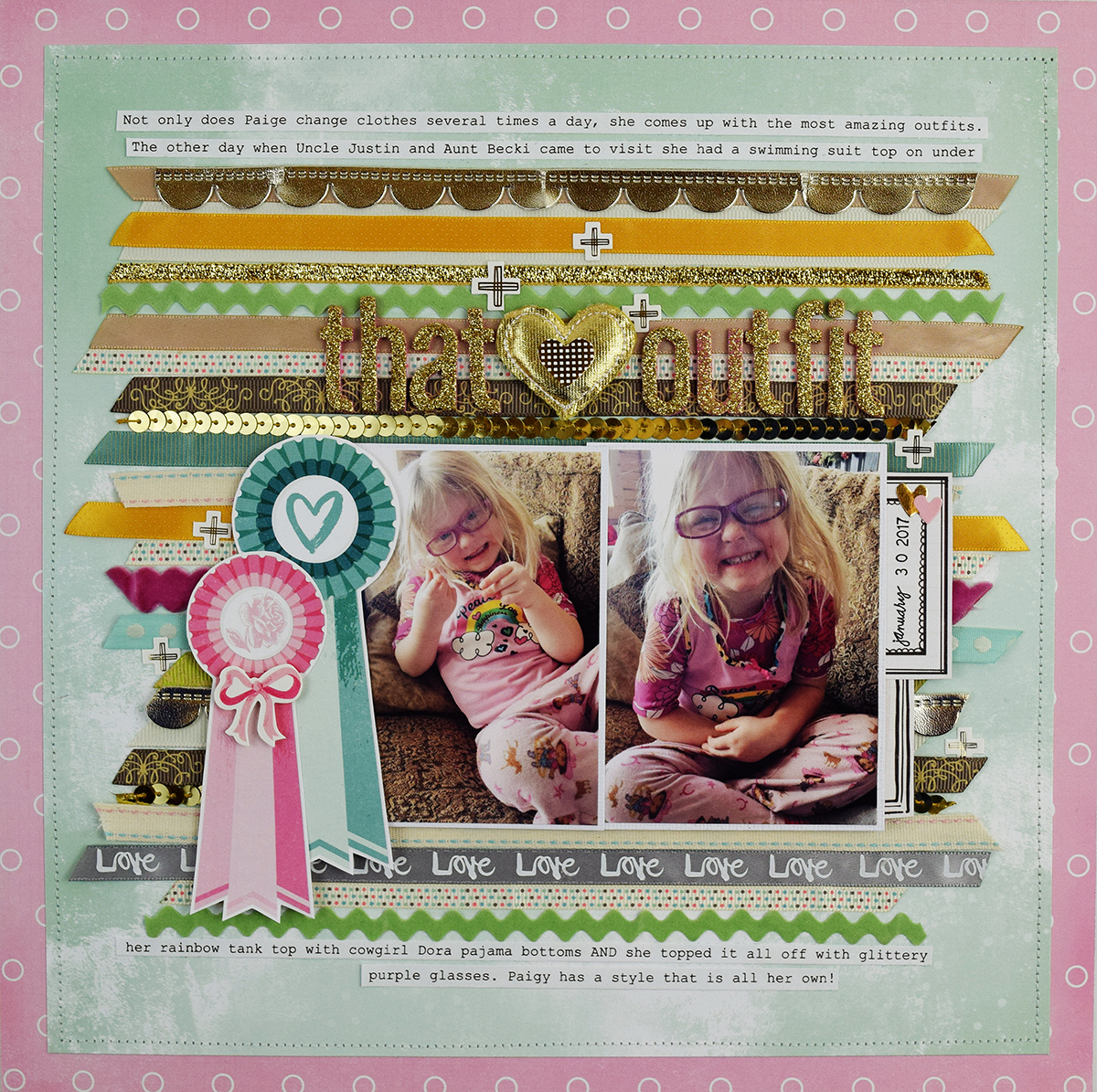 How to add scrapbook pages - Add Ribbon To A Scrapbook Page With The Ribbon Cutter