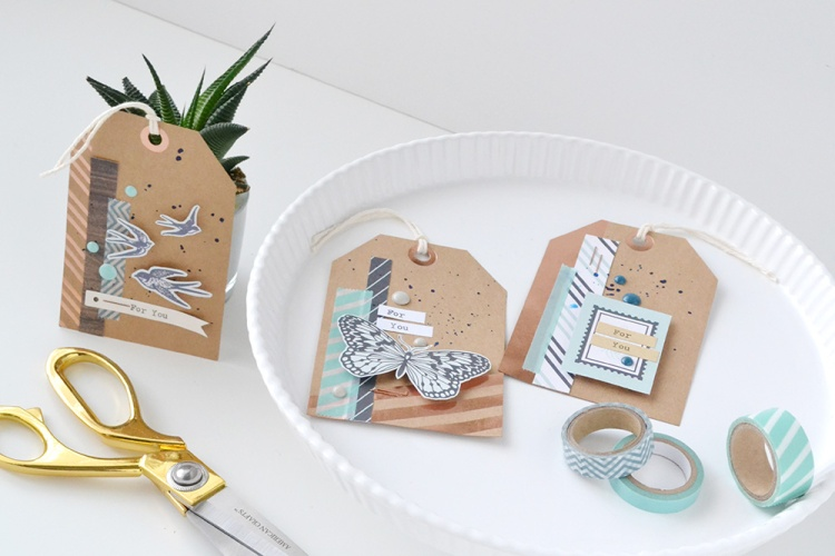 Typecast Gift Tags by Aly Dosdall for We R Memory Keepers