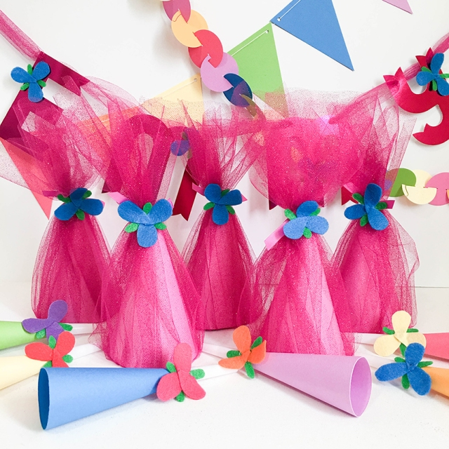 Trolls Birthday Party Decor by Tessa Buys for We R Memory Keepers featuring the DIY Party Board