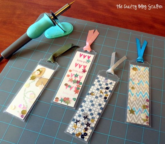 Shaker Pocket Bookmarks