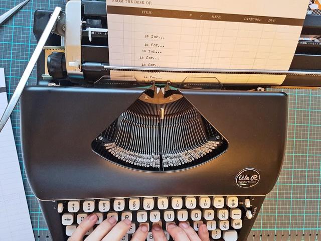 We R Memory Keepers Typecast Typewriter