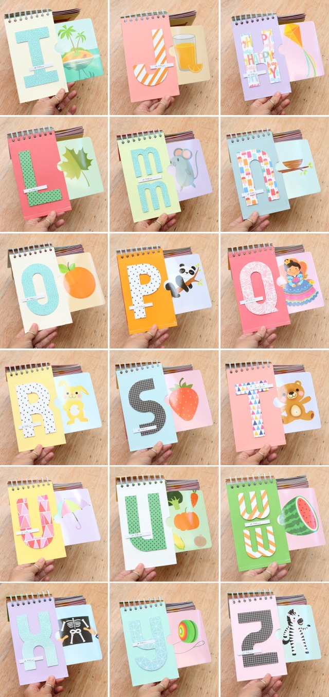 Interactive Alphabet Book by Chantalle McDaniel for We R Memory Keepers