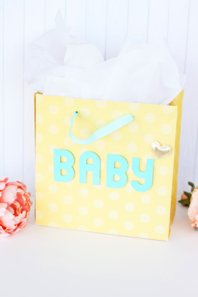 Baby Gift Bag by Laura Silva for We R Memory Keepers