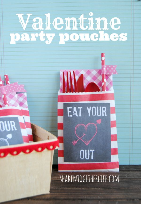 Valentine Party Pouch