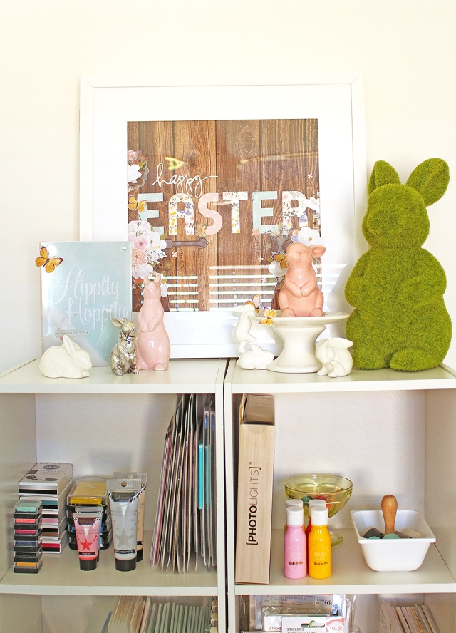 DIY Easter Decor by Chantalle McDaniel for We R Memory Keepers