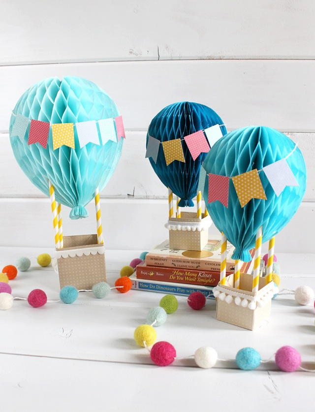 Hot Air Balloon Baby Decor We R Memory Keepers Blog