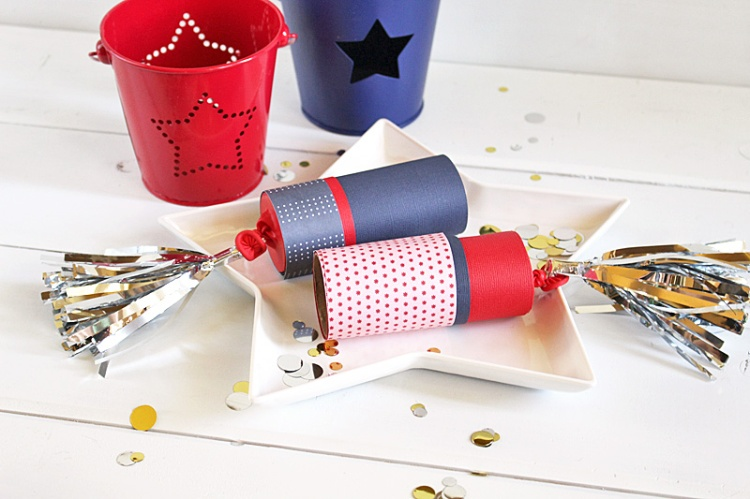 DIY Confetti Poppers by Kimberly Crawford for We R Memory Keepers