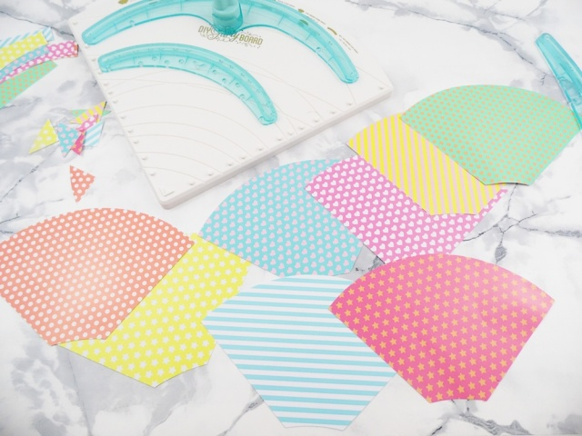 DIY Party Board Mini Party Hats by Soraya Maes for We R Memory Keepers