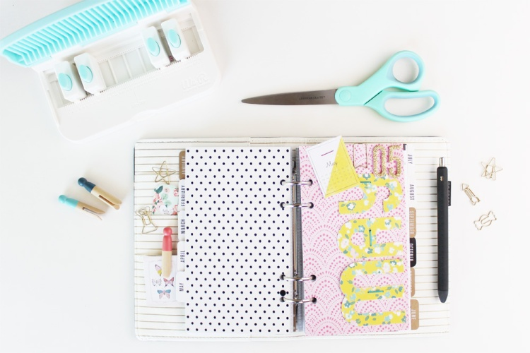 Monthly Planner Dashboard by Laura Silva for We R Memory Keepers