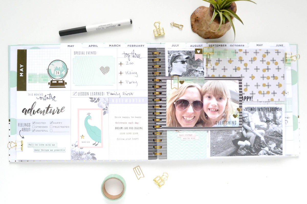 Photo Frame Planner Insert by Aly Dosdall