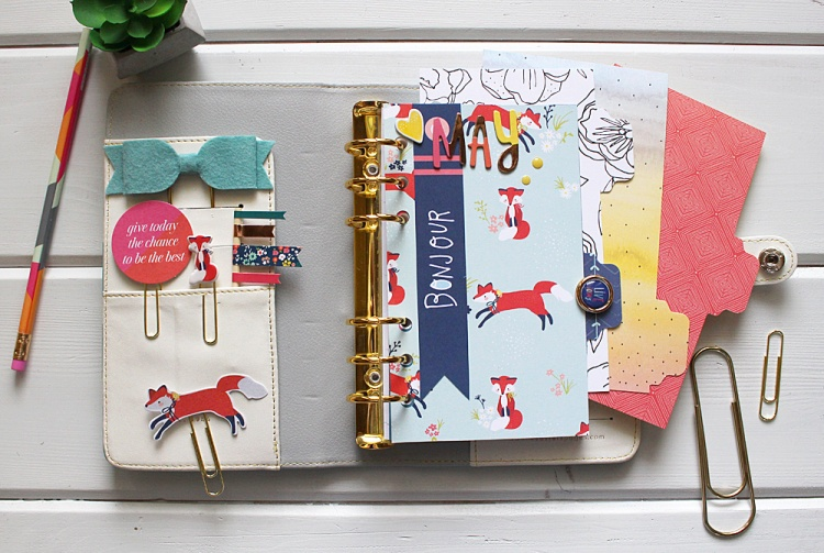 Custom Planner Dashboards by Kimberly Crawford for We R Memory Keepers