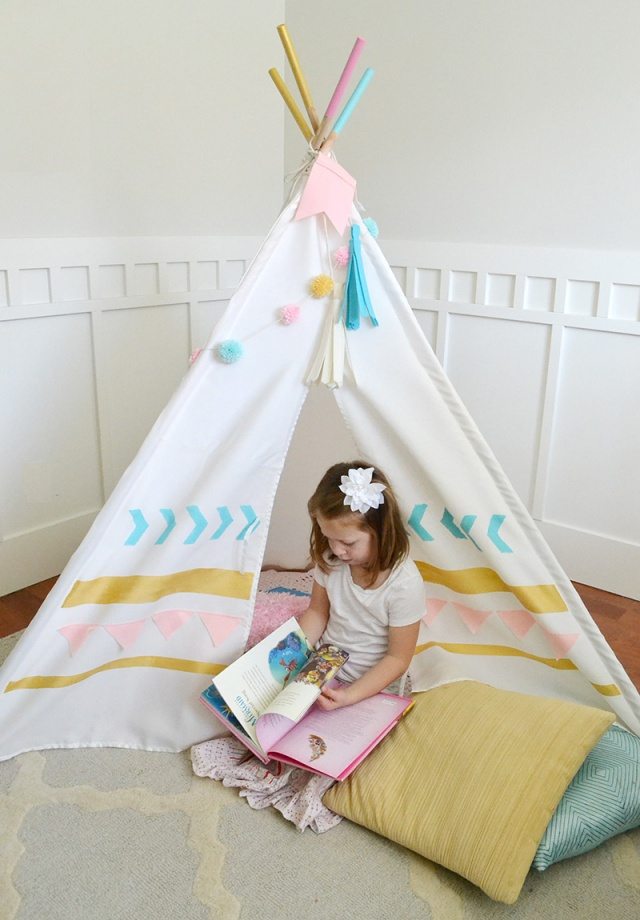 DIY Teepee Kit by We R Memory Keepers