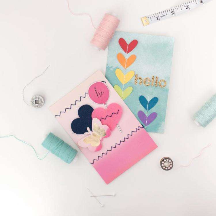 Stitch Happy project inspiration from We R Memory Keepers