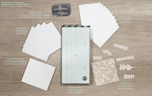 Letterpress Kit by We R Memory Keepers