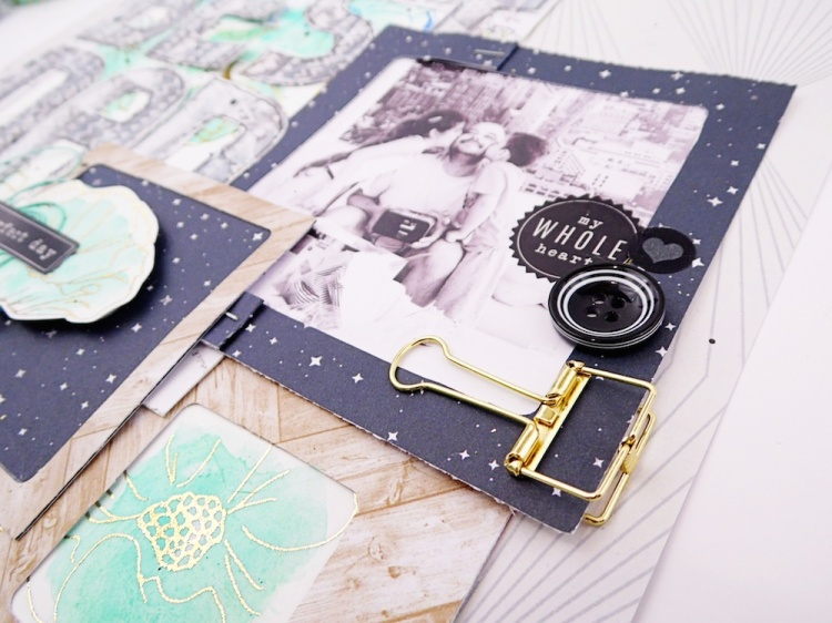 Father's Day Scrapbook Layout by Soraya Maes for We R Memory Keepers