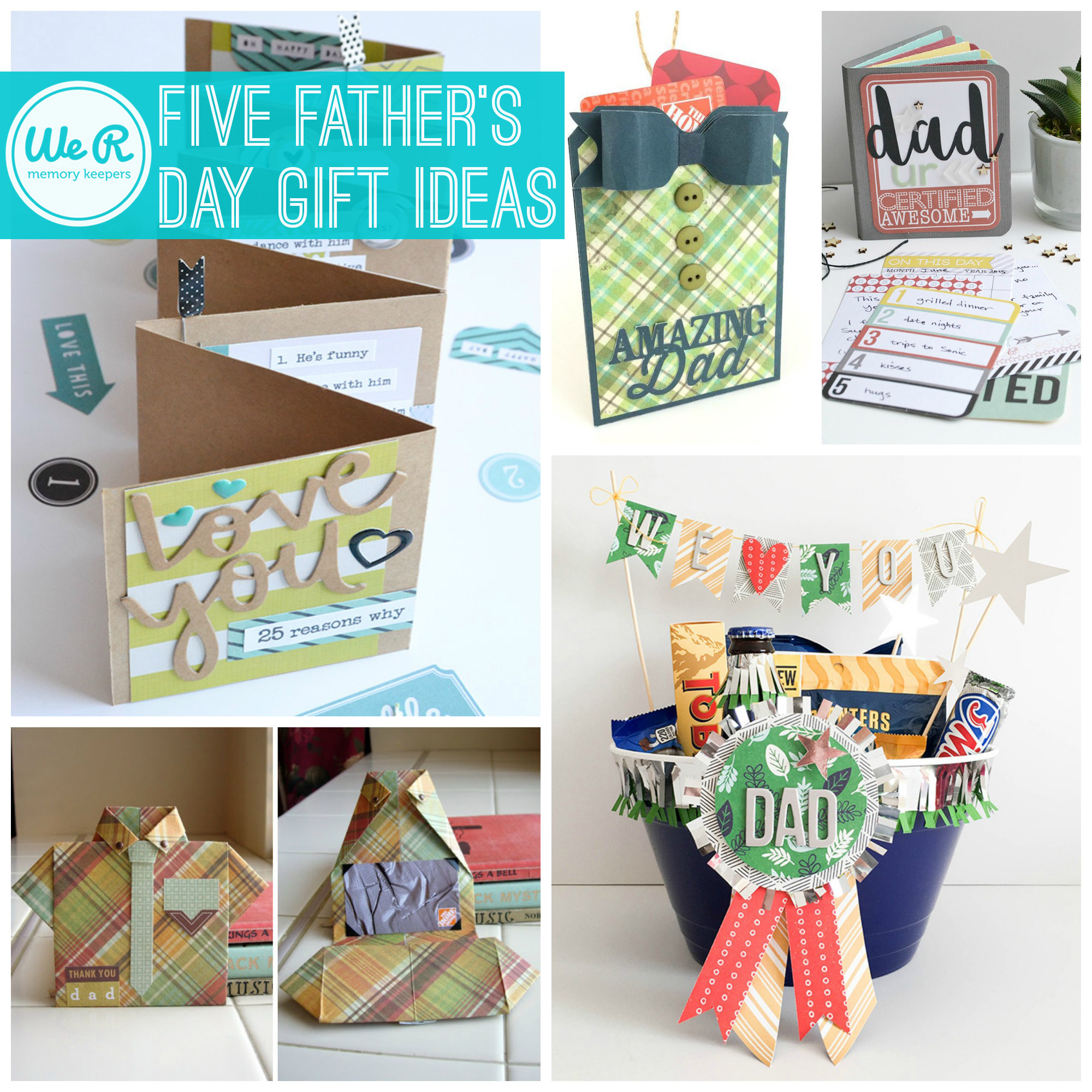 Top five father s day gift ideas we r memory keepers blog for Best gifts for fathers day