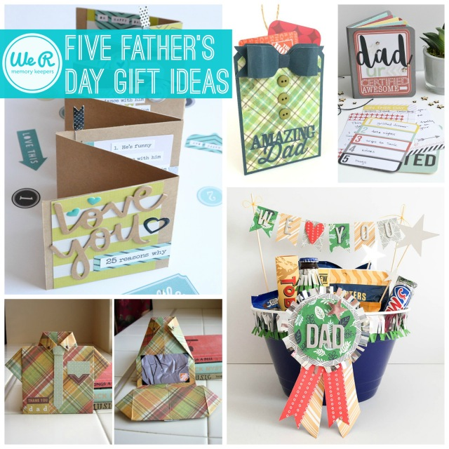 Top Five Father's Day Gift Ideas | We R Memory Keepers Blog