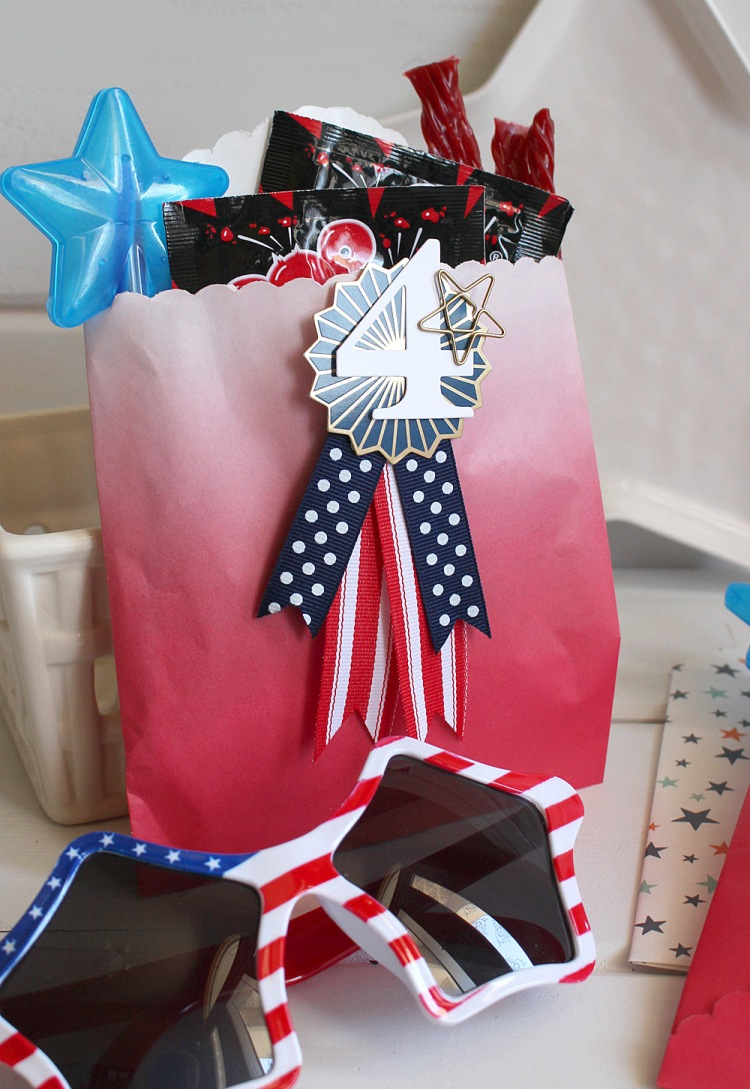 Patriotic Party Favors by Kimberly Crawford for We R Memory Keepers