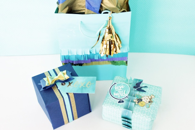 Gift Packaging by Laura Silva for We R Memory Keepers