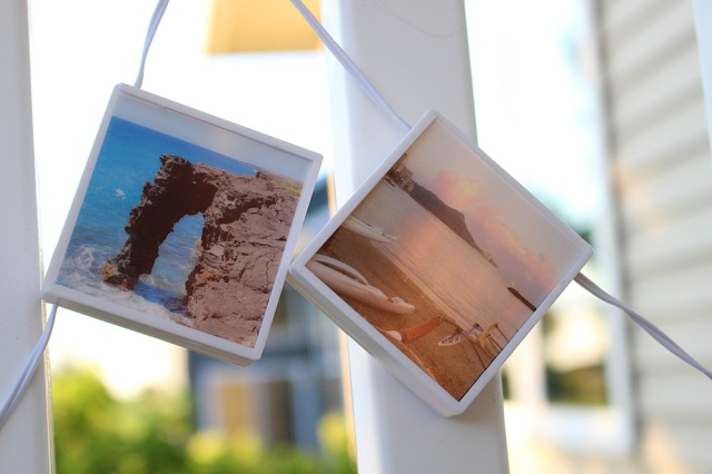 Travel Photo Display with the PhotoLights Photo Strand by Kimberly Crawford for We R Memory Keepers