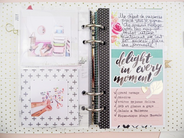 Planner Spread by Soraya Maes for We R Memory Keepers