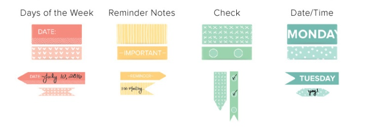 New Washi Chomper washi tape companions by We R Memory Keepers